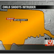 12 Year Old Oklahoma Girl Shoots Home Invader While on the Phone With 911 Waiting for Police