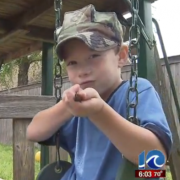 7 Year old suspended for making machine gun noise and pointing finger