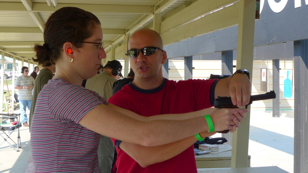 Woman's Handgun Training