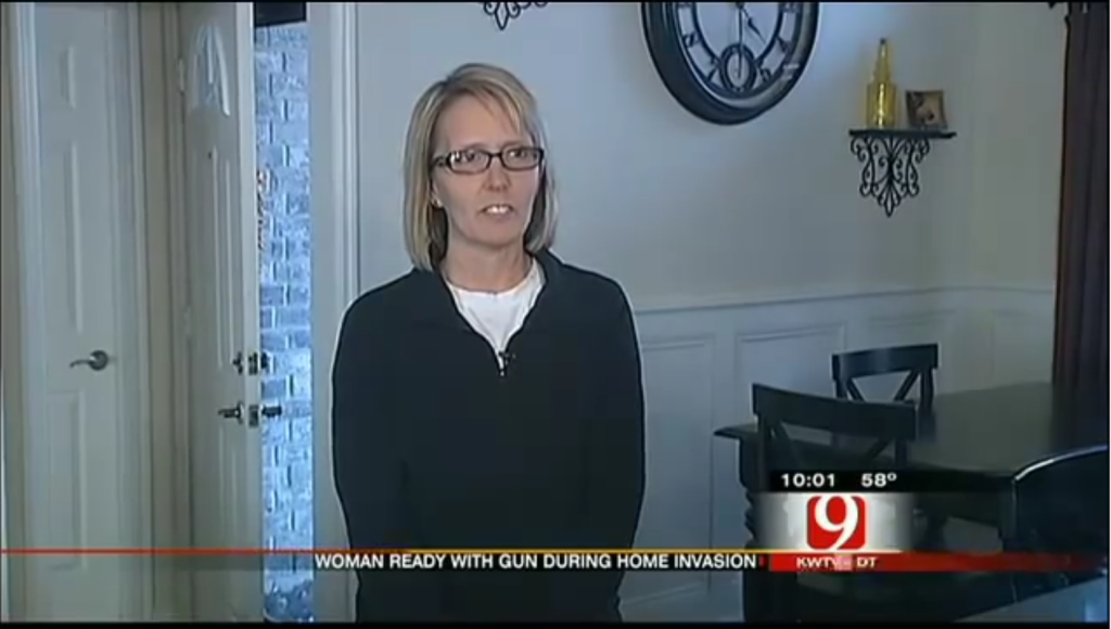 Oklahoma housewife Pam Loman does not strike you as the Rambo type. She is proof that ordinary women when armed are capable of defending themselves against home invasion.